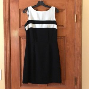 CDC Black and White Dress